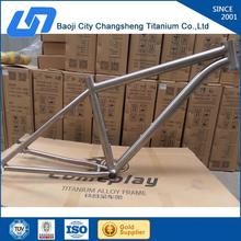 customized your style 26er titanium bicycle frame can be customized according to your requirement