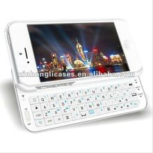 Bluetooth keyboard case For iPhone 5 with factory price