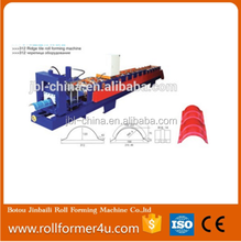 hot sale new design galvanized Ridge Cap Roll Forming Machine
