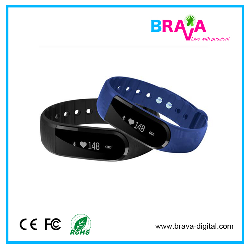 Custom Pedometer Caories Tracking Band For Smart Watch Gt08 Sports Wristband Anti Lost