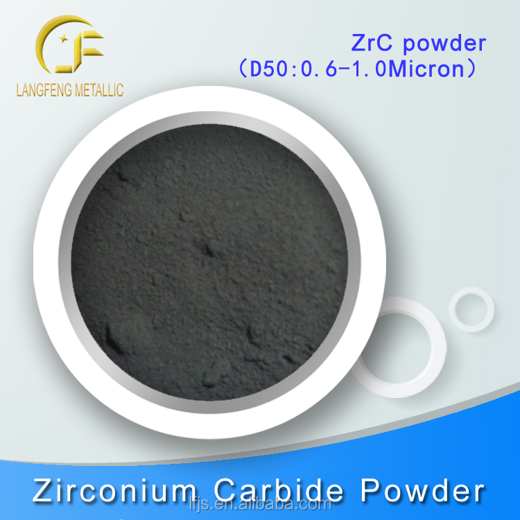 Zrc, Tic, Vc, Cr3c2, Nbc, Hfc, Mo2c, Tac Metal Carbide Powder