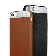 Kalaideng Genuine real Leather Black case for iPhone 5S Mobile Phone accessories
