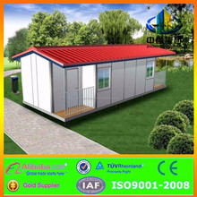 prefab house with bathroom and kitchen