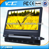 9 inch removable headrest dvd player