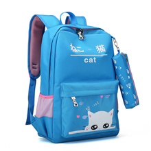 Fancy Top Quality Popular Design Bright Color School Backpacks for teenage Girls College Students