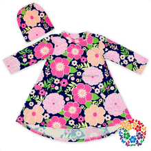 Supur Soft Beautiful Floral New Model Baby Girl Dresses Teenagers Flower Girl Dresses