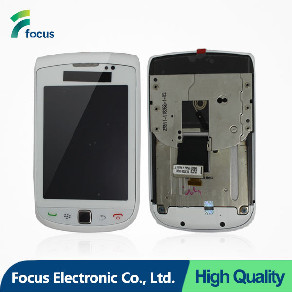 Mobile phone LCD screen for blackberry torch 9800 with original quality