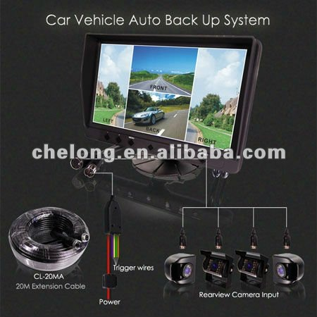 2012 newest Night vision car accident camera kit