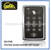 Crypton One Door Access Controller with Keypad for Building Management System with Card or Access PIN open mode
