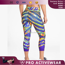 (Trade Assurance) loma jane ladies fitness gym capri pants