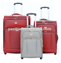 Fashion style painted colorful plane PU luggage