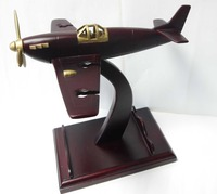 Wooden Wine bottle Holder-old style airplane