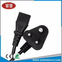 Competitive Price Free Sample Ce/Rohs Pvc Flat Lamp Cord Plug