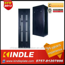 home wall mounted network switch rack cabinet with glass door