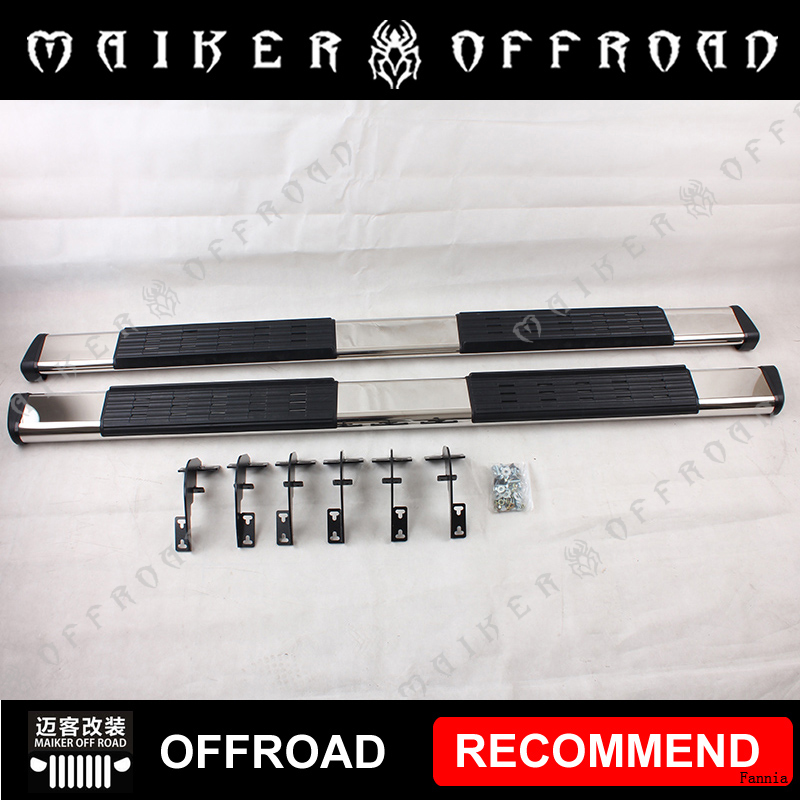Stainless Steel Side Step Bar Running Boards for Dodge Ram 1500 2500 3500 08-14 Exterior Accessories