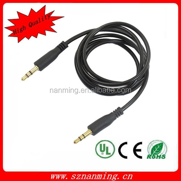 3.5mm Male Audio Cable to Male M/M Jack Stereo Aux Adapter Extension cable