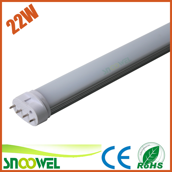 High efficient ultra brightness 535mm led 2g11 pl lamp