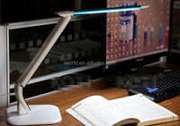 10w High quality office led study table lamp touch sensor led desk lamp