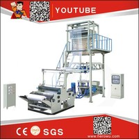 HIGH QUALITY HERO BRAND polythene film blowing machine