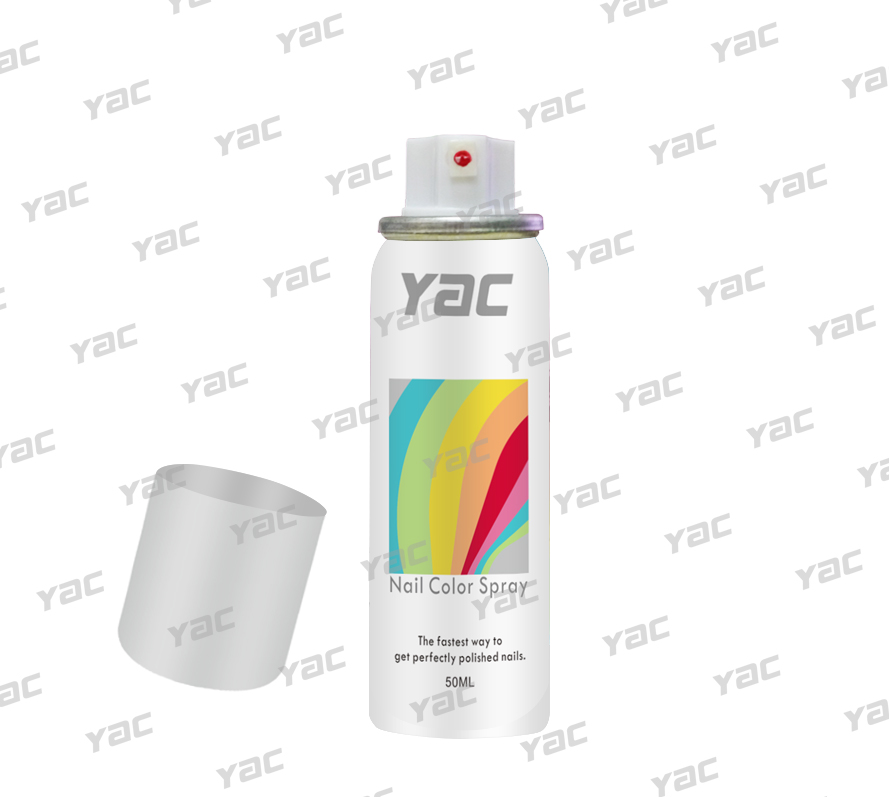 Hot! new product YAC 50ML aluminum can color spray on nail