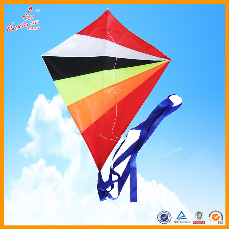 Rainbow diamond kite from china