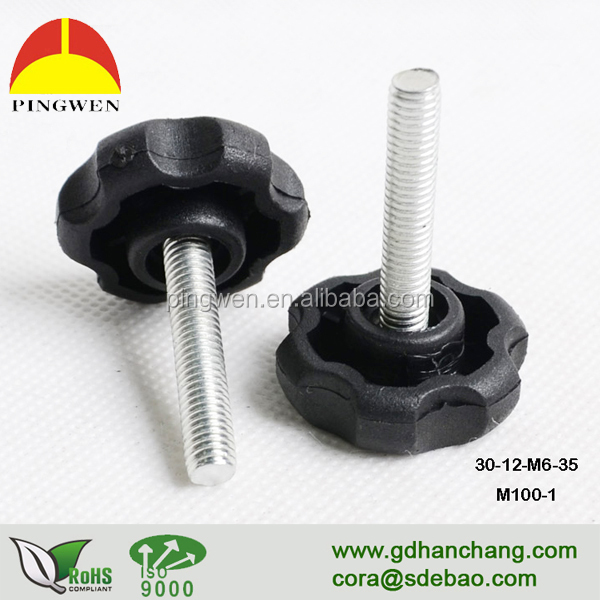Factory <strong>price</strong> high quality table adjustable screw, cabinet screw on glides
