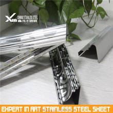 Customized 304 316 grade stainless steel window frame