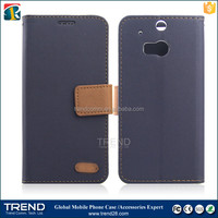 alibaba express wholesale flip wallet leather celular for HTC M8