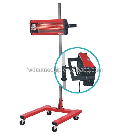 CE approved shortwave infrared paint curing lamp for sale