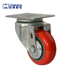 Chinese cheapest 100mm arcade push button caster wheel manufacturer