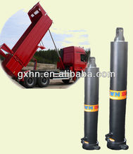 hydraulic trailer lifting jack/cylinder for trucks/chrome plated/ISO9001