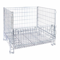 Strong quality big capicity Foldable Mesh Cage