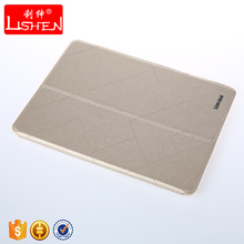 OEM/ODM durable foldable easy carrying lightweight PU material tablet case for Ipad