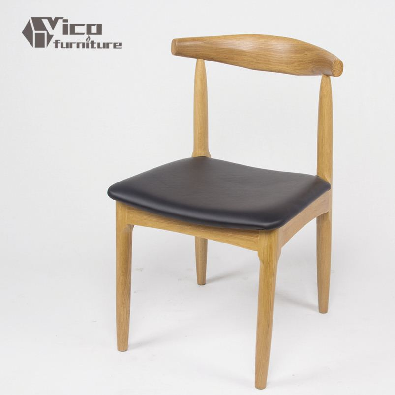 made in China best price famous design by master designer solid oak material popular solid wood arm chairs