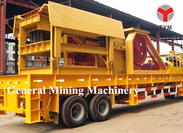 mobile stone production line