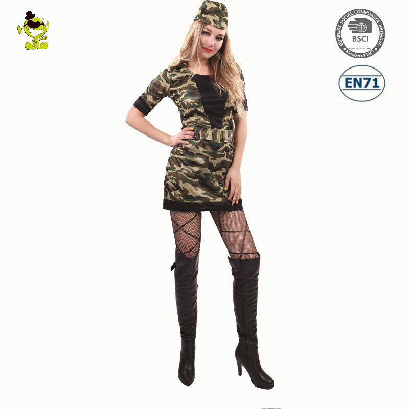 Halloween Sexy Army home military police uniform costume