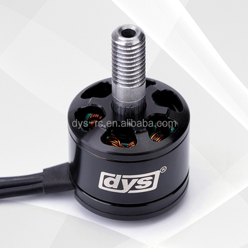DYS SE1407 3600KV brushless motor cw & ccw with 3-4S Lipo and 450g pull for FPV racer