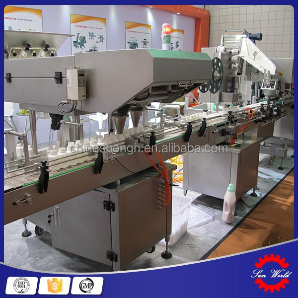 Best Price Machinery Tablet or Capsule Plastic Bottle Counting and Filling Line