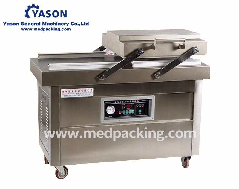 DZ600 Double chamber flat vacuum packaging machine