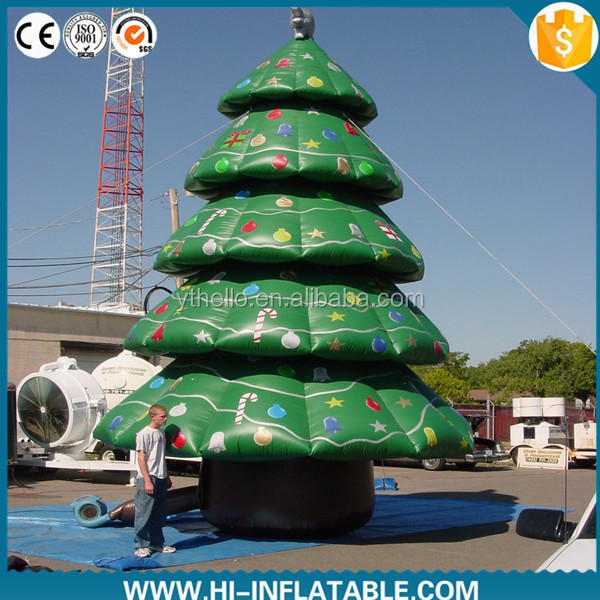 New design inflatable christmas tree indoor with high quality