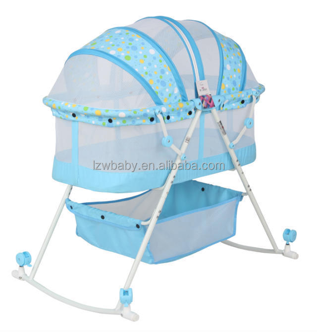 Lzw portable cradle bed models baby cribs model 806 buy bed models baby cribs lzw bed models - Compact cribs small spaces model ...