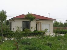 low price economic and easy installation prefabricated house in Algeria with light steel structure