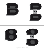 Create Your Own 3D Custom Shaped Flash Drive Customized USB Flash Disk , High Speed Personized USB Flash Drive 8GB