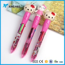 Wholesale cute novelty cartoon animal ballpoint pen for school kids students