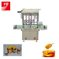 YB-JG4 Automatic Lube Oil Filling Line/Oil Bottle Filling Capping Machine