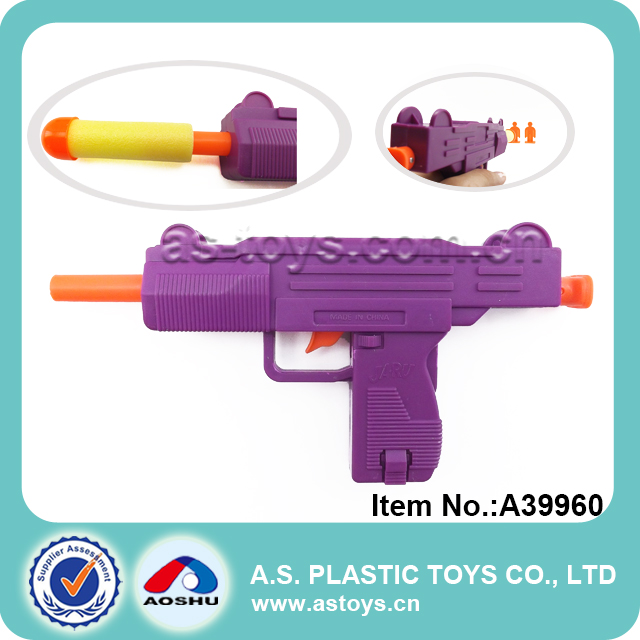 hot selling airsoft toy gun plastic soft bullet gun toy with 6 bullets