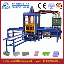 QTF3-20 block machine hollow blocks maker shot blast block making machine
