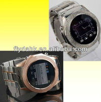 Stainless steel watch mobile phone W960