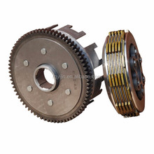 Good quality motorcycle engine parts wet clutch assembly for CG150