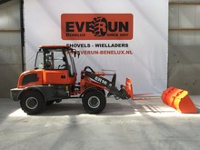 European market front end loader ER16 with snow plough